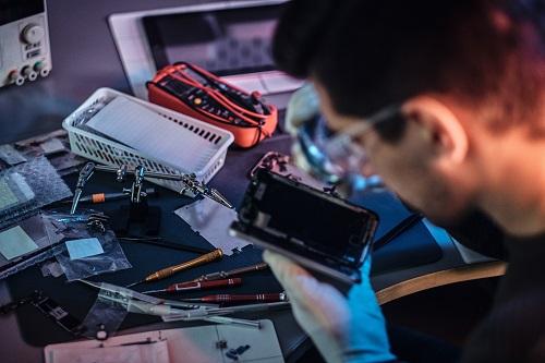 réparateurs de smartphone